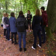 Workshop Mindful Walk @VSG congres  2017 (Vereniging voor Sport en Gemeenten) in Sonsbeek Park